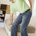 A man suffering with Sciatic pain