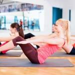 post natal pilates class