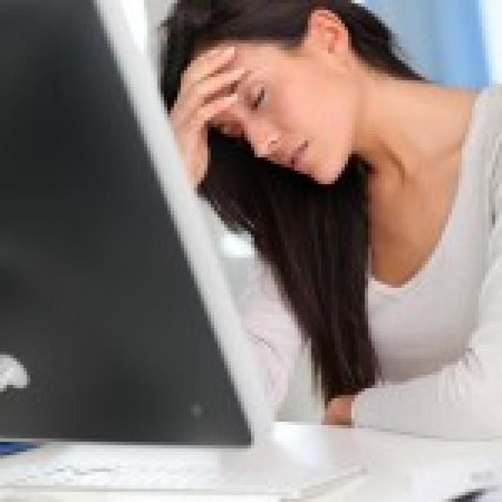desk posture causing pain