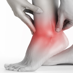 Chronic Ankle Instability - pain around ankle